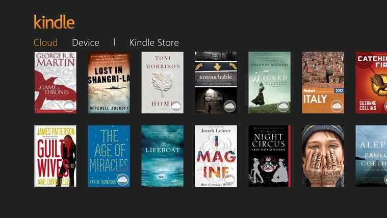 kindle app para windows 8