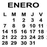 Calendario de enero 2013 para poderlo imprimir