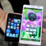 Los smartphones podrian desaparecer debido a los phablets