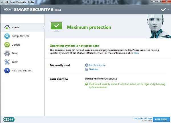 Eset Smart Security  2013