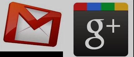 Google plus y gmail