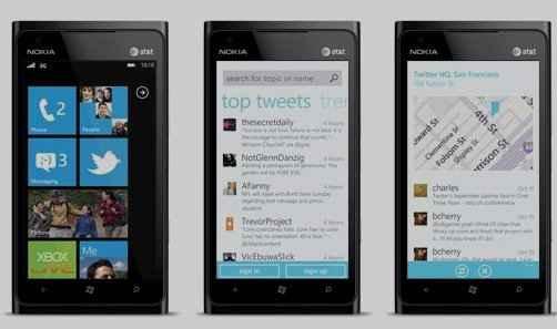 Twitter para Windows Phone