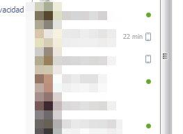 conectado a facebook desde el celular