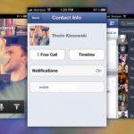 Descarga gratis Facebook 5.5. para iphone ahora con llamadas gratis