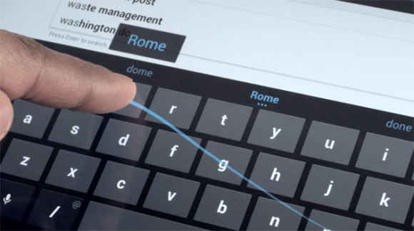 teclado swype para Android
