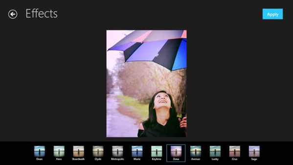 Photo Editor windows 8