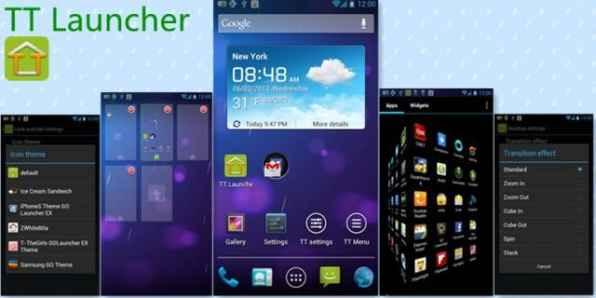 TT Launcher lanzador de aplicacion Android