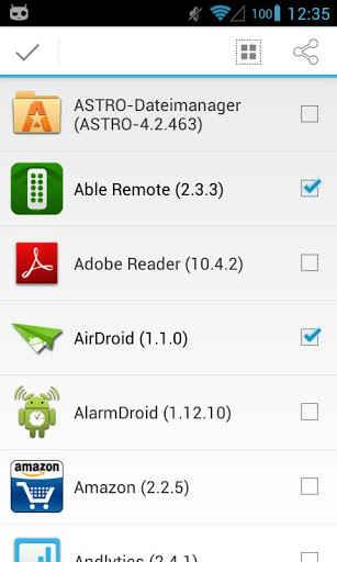 copia de respaldo de apps en Androd