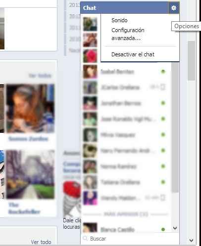 desconectarme de facebook