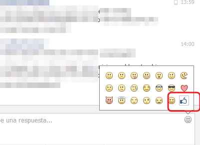 emoticon de like