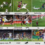 Imagen de humor entre el Barcelona y Real Madrid