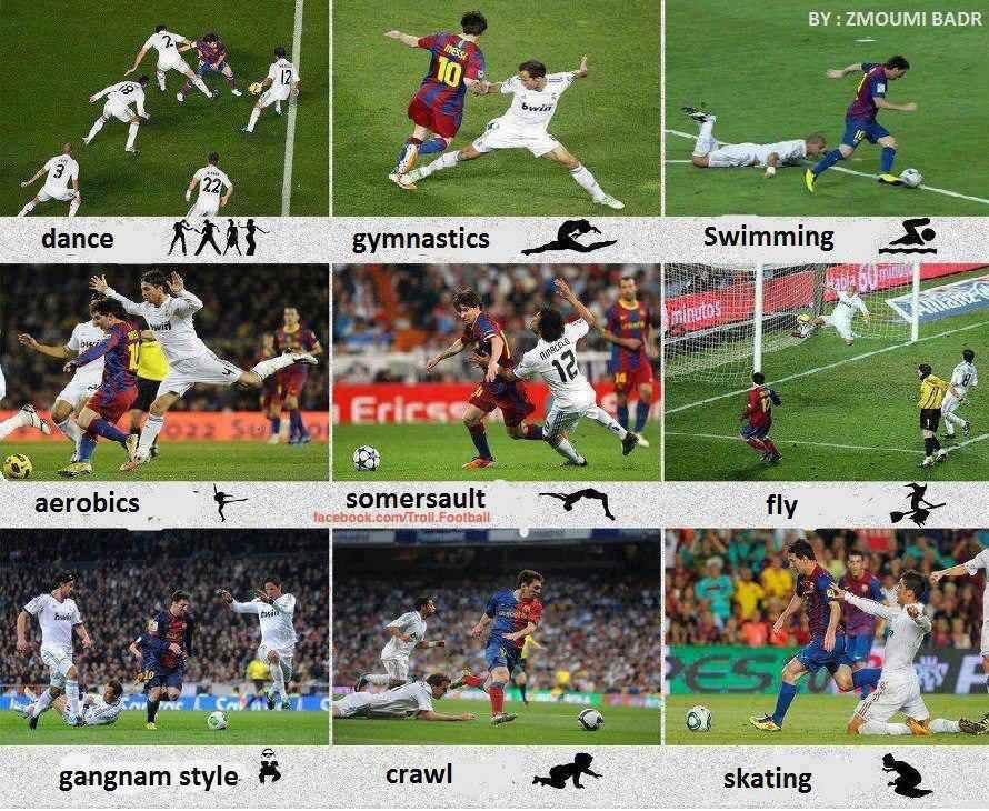 Imagen de humor entre el barcelona y real madrid lo for Real madrid sevilla hoy