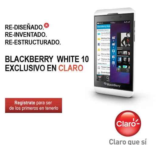 Blacberry z10 con claro