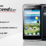 Huawei  ascebde G 301
