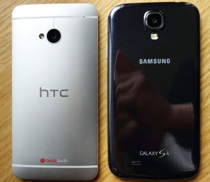 Samsung Galaxy S4 vs HTC One camara