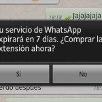 WhatsApp se termina el tiempo
