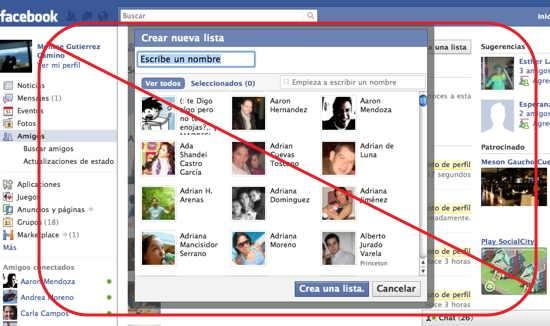 agregar amigos facebook