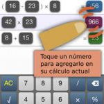 PopCalc, calculadora para ipad, iphone muy util