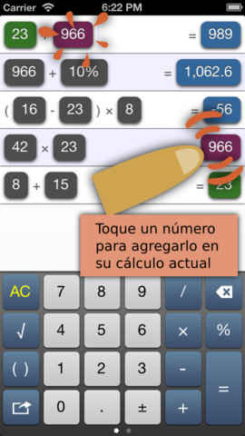 calculadora para iphone gratis