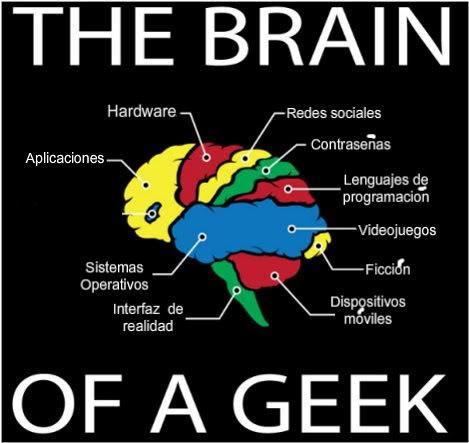 cerebro de un geek
