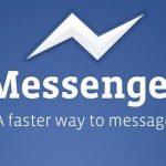 Como quitar las burbujas del chat en la aplicación de Facebook Messenger