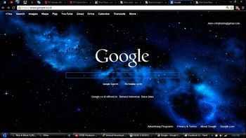 dark blue google