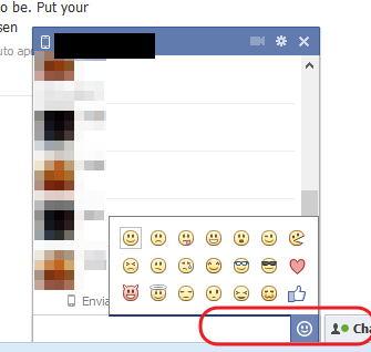 emoticones para enviar facebook