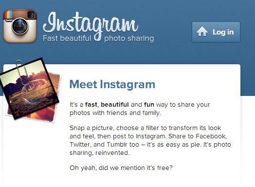 entrar a instagram