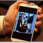 gestos sobre la pantalla del Galaxy s4