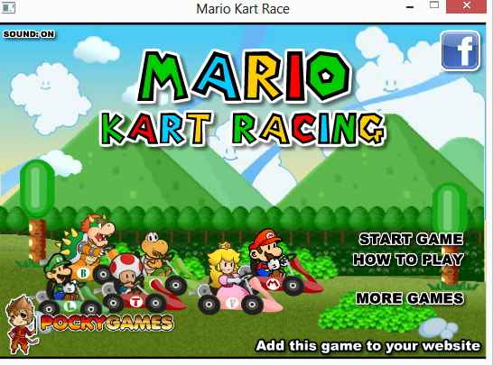 mario kart windows 8