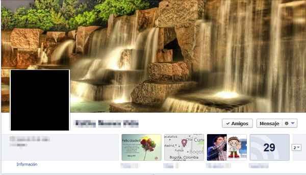 perfil basico en facebook