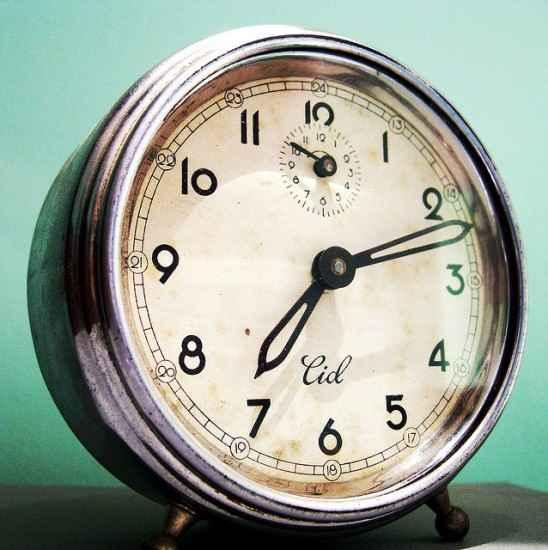 reloj 7 PM