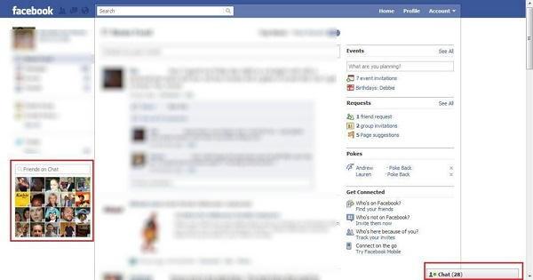 saber si una persona se ha conectado a Facebook