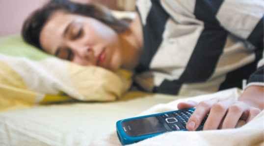 smartphone miestras dormimos