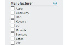 smartphone sprint por por fabricante