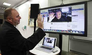 videoconferencia por Facebook