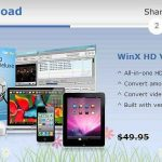 Descarga WinX HD Video Converter Deluxe gratis con serial