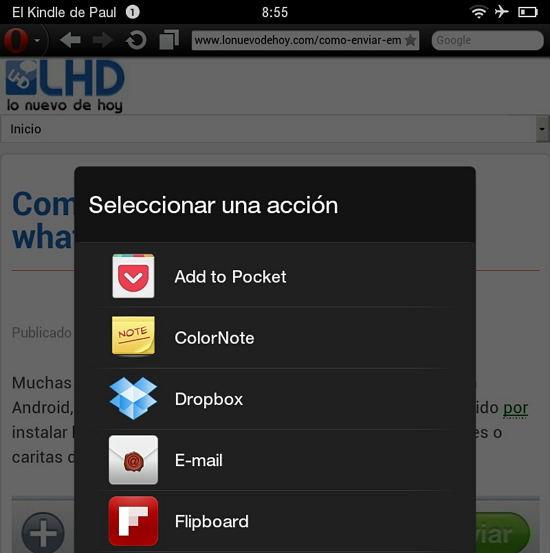 Opera guardar offline con pocket
