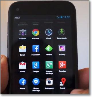 HTC First velocidad