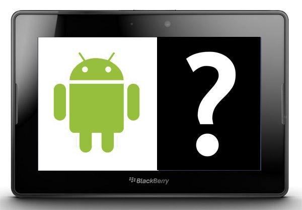android en Blackberry