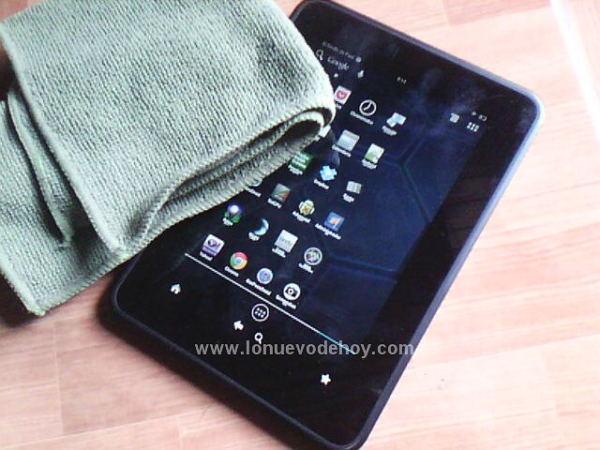 como limpiar un tablet