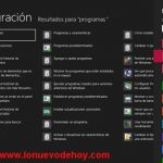 Como desinstalar o quitar un programa en Windows 8