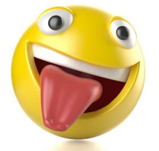 emoticon sacando la lengua