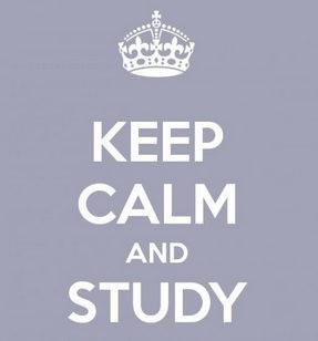 keep calm y estudia