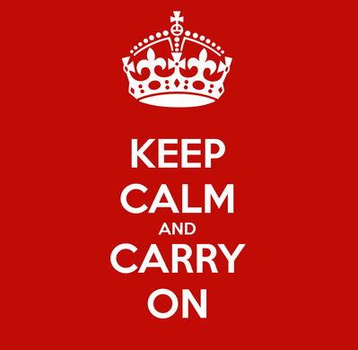 keep calm y sigue para adelante