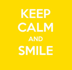 keep calm y sonrrie