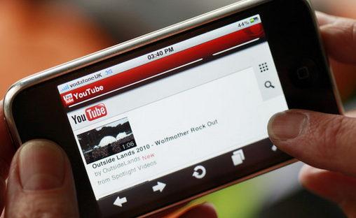 mirando videos smartphone