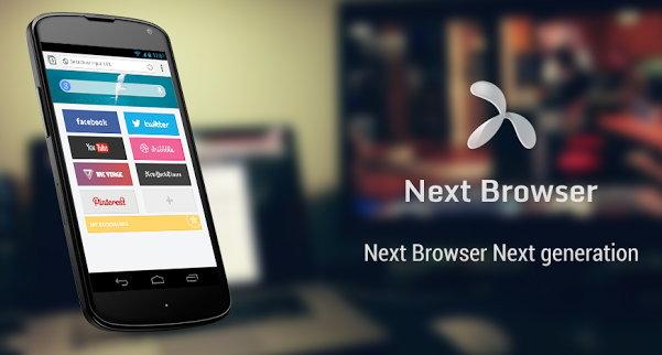 nuevo navegador para android