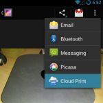 Enviar archivos a imprimir desde Android con Cloud Print