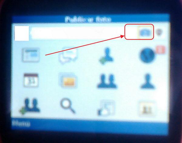 cargar imagenes a facebook desde el celular java